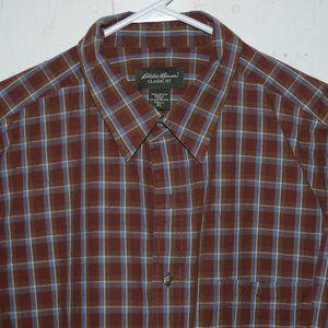 Eddie bauer button down mens shirts size XL T J923